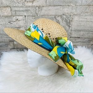 Columbia Woven Straw Hat Size S/M